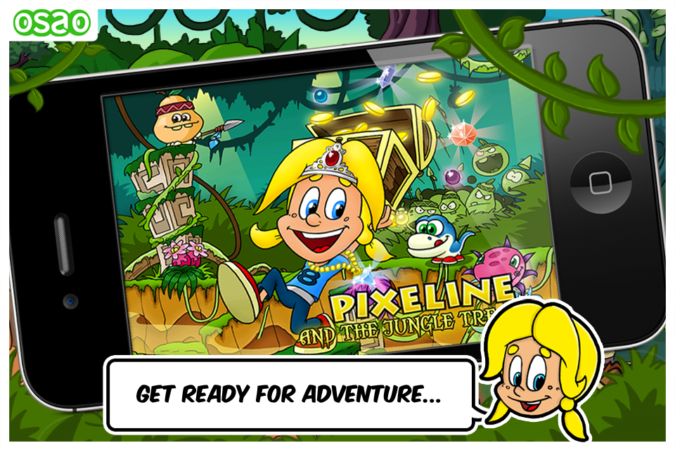 Screenshot Pixeline and the Jungle Treasure FREE